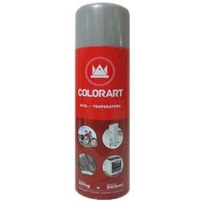 Tinta Spray Colorart Alta Temperatura Alumínio 300Ml