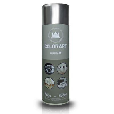 Tudo sobre 'Tinta Spray Colorart Cromado - 300ml'