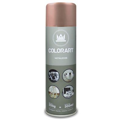 Tinta Spray Colorart Metálico 300ml - Ouro Rose