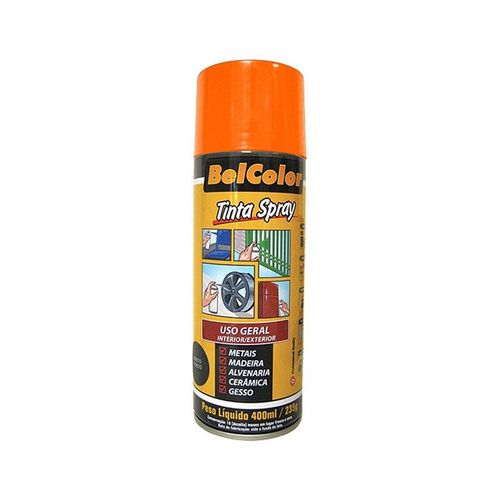 Tinta Spray Luminosa Laranja 400ml Beltools