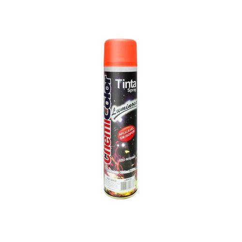 Tinta Spray Luminosa Laranja Chemicolor