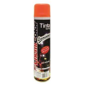 Tinta Spray Luminoso Laranja 380ml