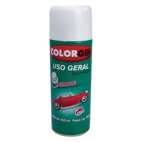 Tudo sobre 'Tinta Spray Uso Geral Premium Branco Acabamento 55011 Colorgin'