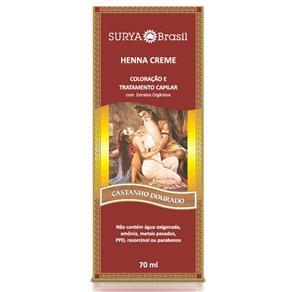 Tintura Creme Henna Surya Castanho Dourado Surya - Castanho Dourado Surya