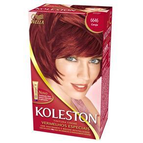 Tintura de Cabelo Koleston - Tons de Vermelho - 6646 - Cereja