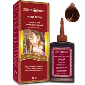 Tintura Henna Surya Creme - Castanho Dourado