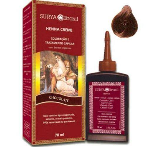Tintura Henna Surya Creme Chocolate 70ml