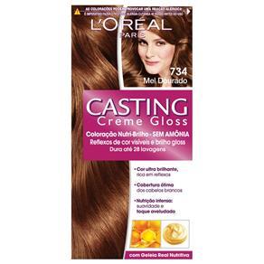 Tintura L`Oréal Casting Gloss 734 Mel Dourado