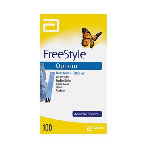 Tudo sobre 'Tiras de Teste Freestyle Optium Neo com 100 Tiras'
