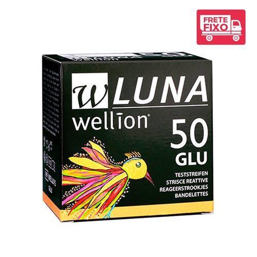 Tudo sobre '50 Tiras de Teste de Glicose Luna - Wellion'
