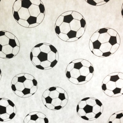 TNT Bola Futebol - Branco com Preto - Metro