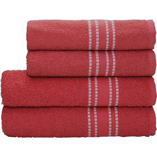Toalha de Banho Camesa Linea Vermelha Camesa