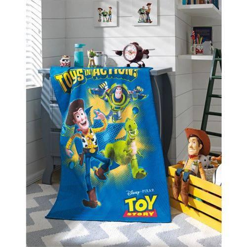 Tudo sobre 'Toalha de Banho Felpuda Infantil Toy Story Dohler'