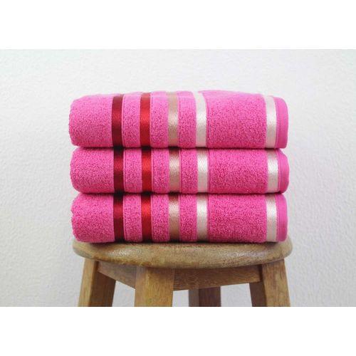 Toalha de Banho Gigante Karsten Lumina Pink