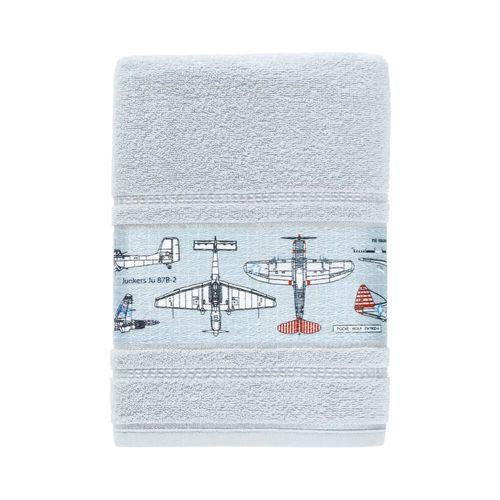 Tudo sobre 'Toalha de Banho Infantil Felpuda Aero - Karsten Azul Glace'
