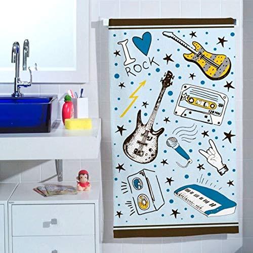 Toalha de Banho Infantil Rockstar (65x115cm)