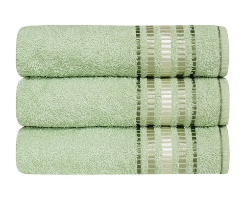 Toalha de Banho Karsten Arantes - Verde Claro