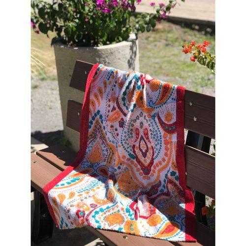 Toalha de Banho Paraty - Arabesco Colorido