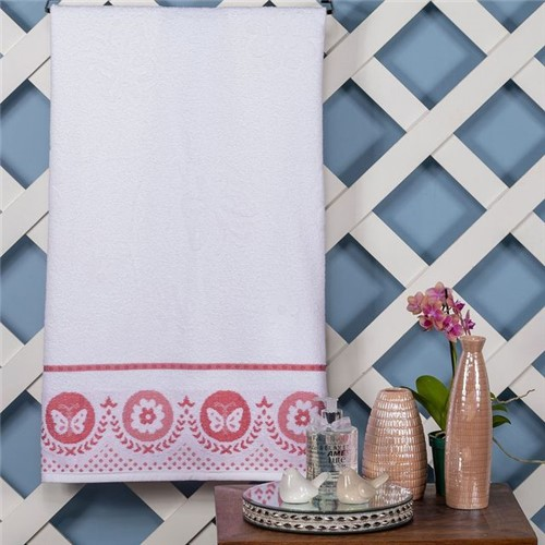 Toalha de Banho Tiffany Branco Branco