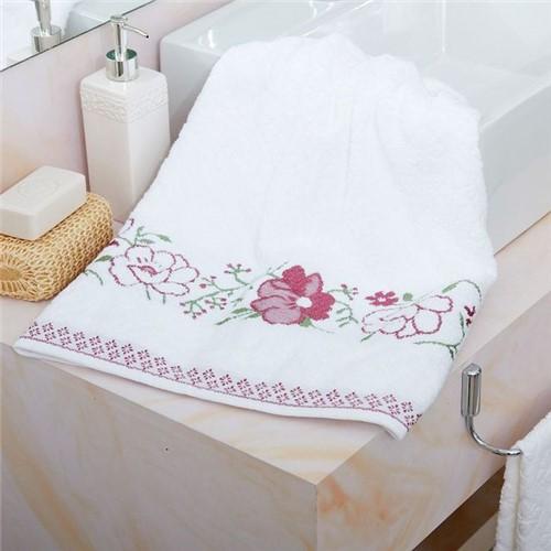 Toalha de Banho Yuna Karsten Branco 1 Branco 1