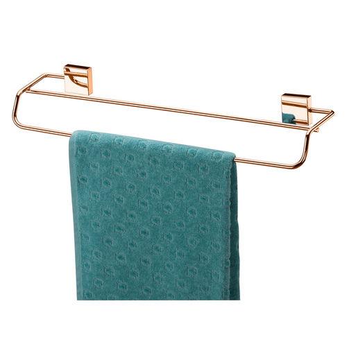 Toalheiro Duplo 45cm - Rosé Gold - FT7508RG - Future