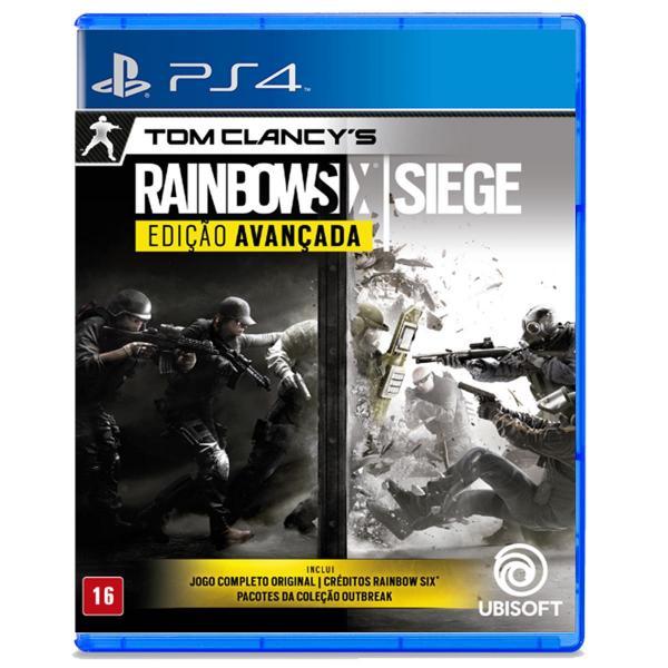Tom Clancys Rainbow Six Siege ( Edição Avançada) - PS4 - Ubisoft