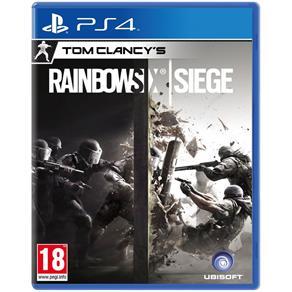 Jogo Tom Clancys Rainbow Six: Siege - PS4