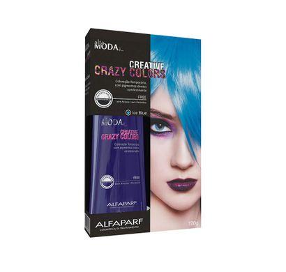 Tonalizante Creative Crazy Colors Ice Blue Alta Moda 120g - Alfaparf
