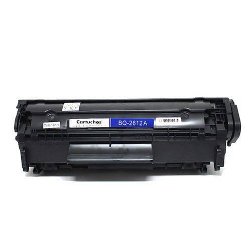 Toner Compatível/alternativo para HP Q2612a 12a 2612a 2612 | 1010 | 1020 | 1022 | 3020 | 3050 | M1005 - 2