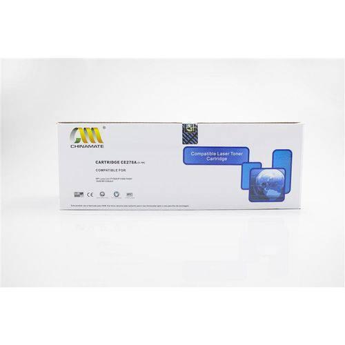 Toner Compatível C/ Hp Ce278a 78a 278a Ce278ab P1566 P1606 P1606n P1606dn M1530 M1536 Chinamate 2k