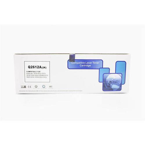 Toner Compatível C/ Hp Q2612a 2612a 12a | 1010 1012 1015 1018 1020 1022 3015 3030 3050 Chinamate 2k
