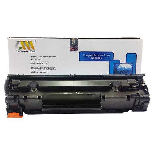 Toner Compatível Hp Cb435 Cb436 Ce285 435 436 285 P1005 P1006 P1102 P1102w 35a 36a 85a M1120 M1212