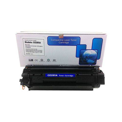 Toner Compatível Hp Ce285a 85a P1102 M1210 M1212 M1130 M1132 M1217 P1102w M1217fw