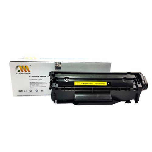 Toner Compatível HP Q2612a 12a 1010 1012 1015 M1005 1022N 3050N Chinamate