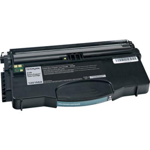 Toner E120 E120n 12018sl e 120 e 120n Compatível Preto 2k