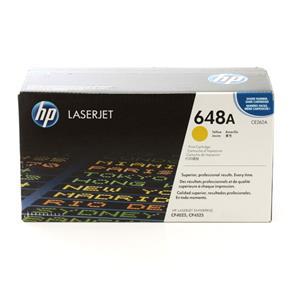 Toner HP 648A Amarelo CE262A