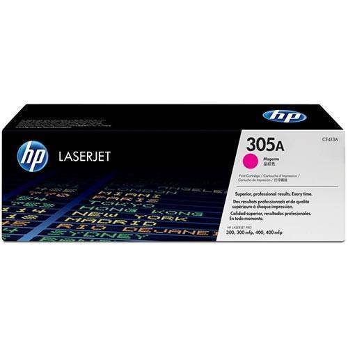 Toner Laserjet Color Hp Suprimentos Ce413a Hp 305a Magenta M451dw / M457dn / M475dw