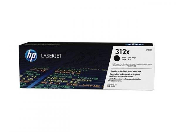 Toner Laserjet Color Hp Suprimentos Cf380x Hp 312x Preto M476nw / M476dw