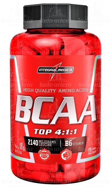 TOP BCAA 4:1:1 (120 Caps) IntegralMedica - Integralmédica