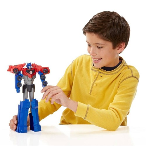 Transformers Rid Titan Chagers Optimus Prime - Hasbro