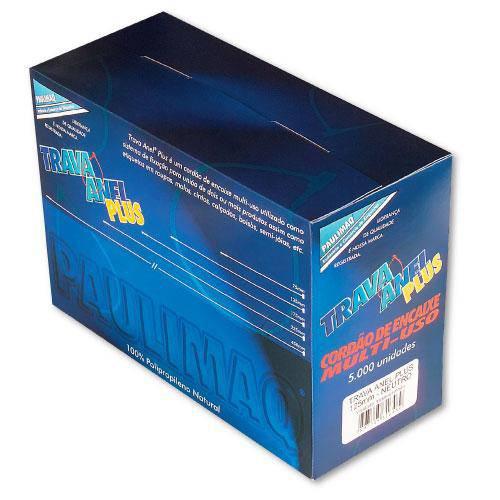 Tudo sobre 'Trava-Anel Plastico Plus 125mm Neutro C/5000 Etiq Plast'