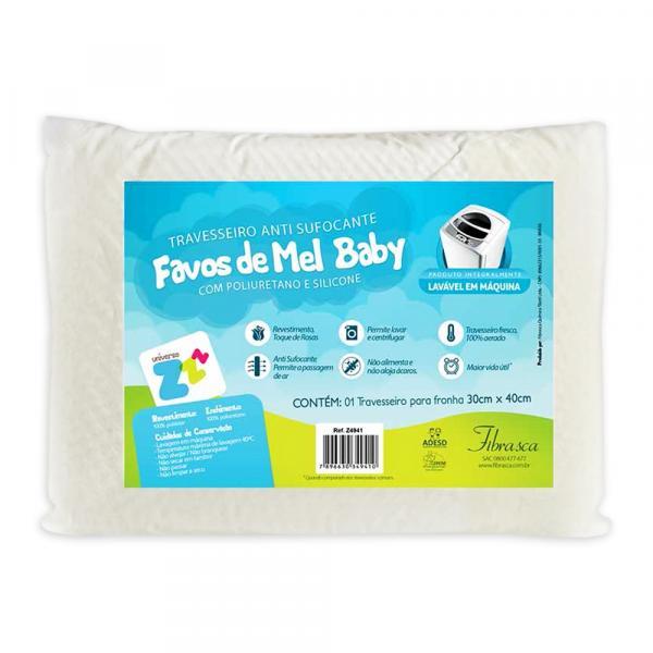 Travesseiro Anti Sufocante Favinhos de Mel Baby - Fibrasca