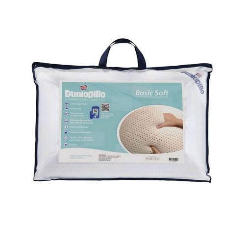 Tudo sobre 'Travesseiro de Látex Basic Soft Dunlopillo'