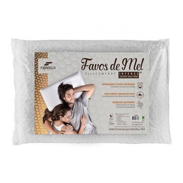 Travesseiro Favos de Mel Fibrasca