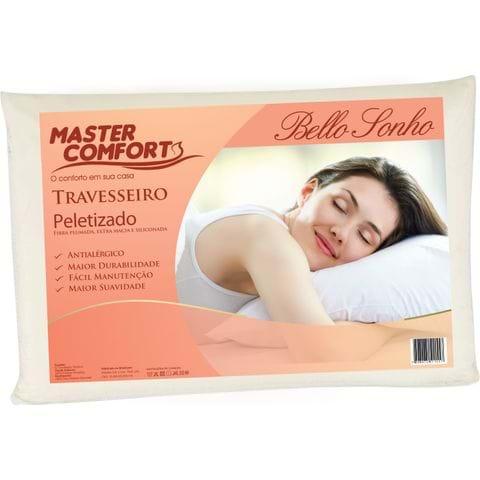 Tudo sobre 'Travesseiro Fibra Bello Sonho com Toque Peletizado Altura 15 Cm'