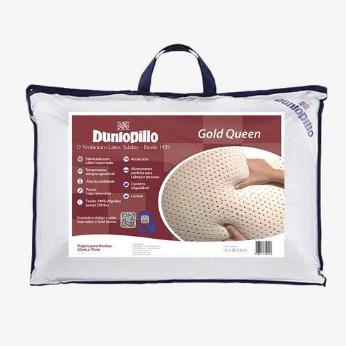 Tudo sobre 'Travesseiro Látex Gold Queen Dunlopillo'