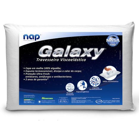 Travesseiro Nasa Galaxy Kit 4 Peças