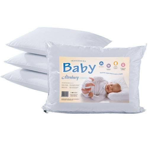 Tudo sobre 'Travesseiro para Bebê 100% Algodão 180 Fios - Altenburg'