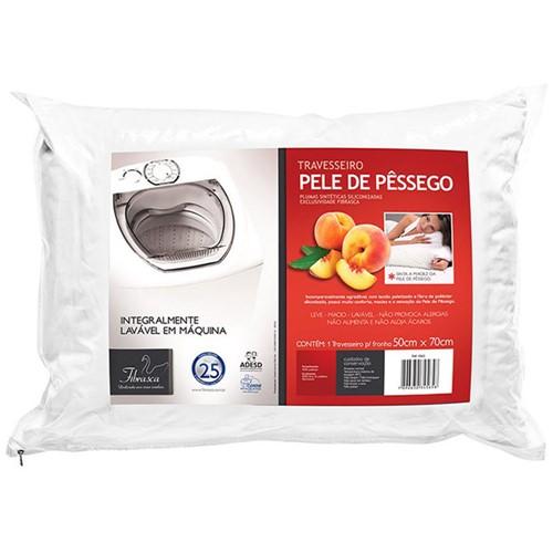 Tudo sobre 'Travesseiro Pele de Pêssego 50x70 - Fibrasca'