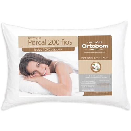 Tudo sobre 'Travesseiro Percal 200 Fios Ortobom'